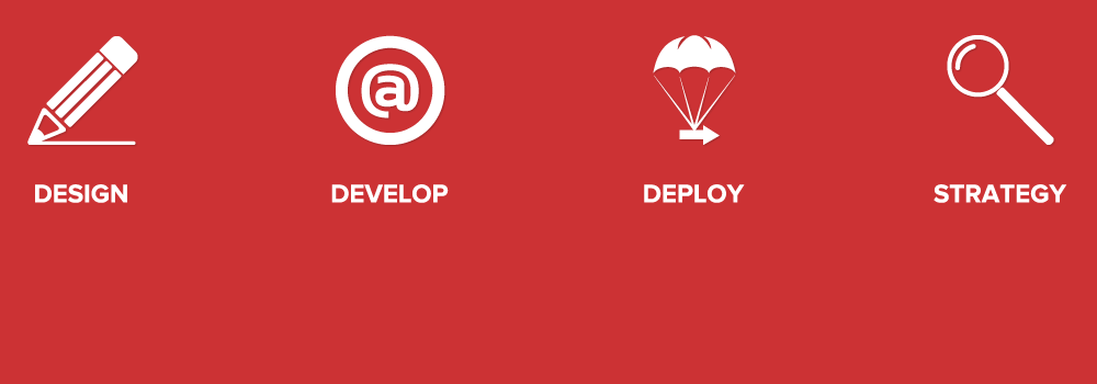 Design | Develop | Deploy | Strategy